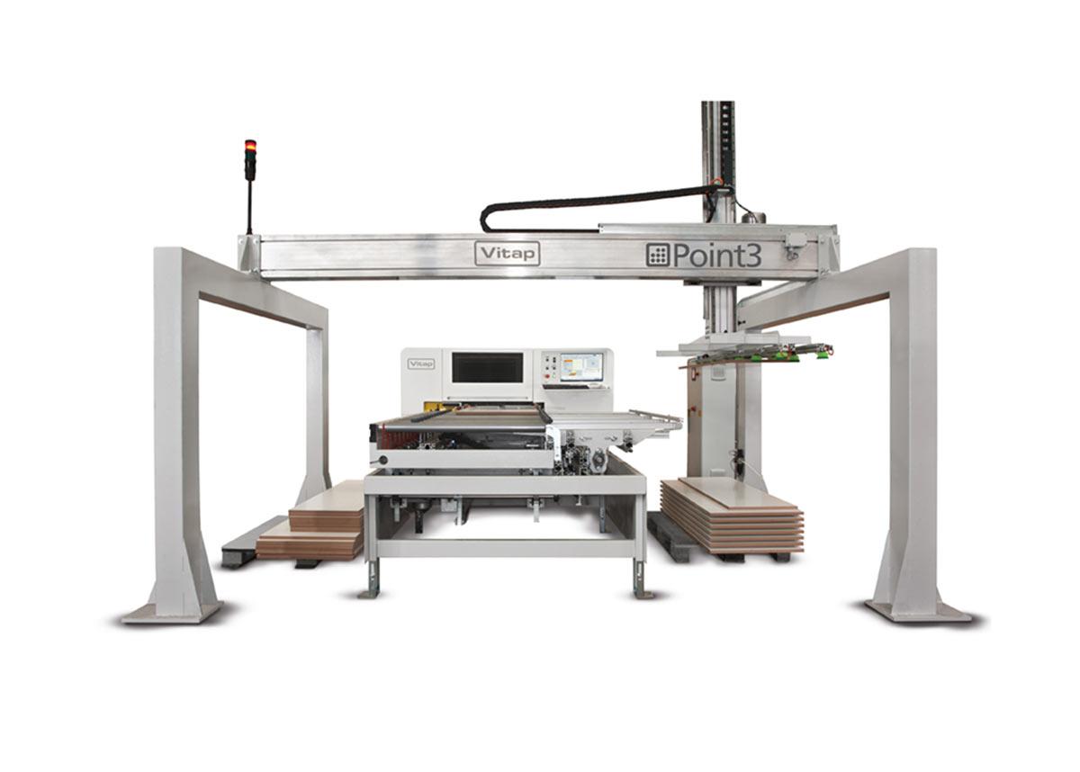 Vitap Point 3 – automatyczna wiertarka CNC