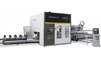 Woodpecker 25 - cnc do produkcji okien - ITA