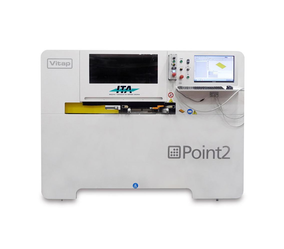 Vitap Point 2 – wiertarka przelotowa CNC