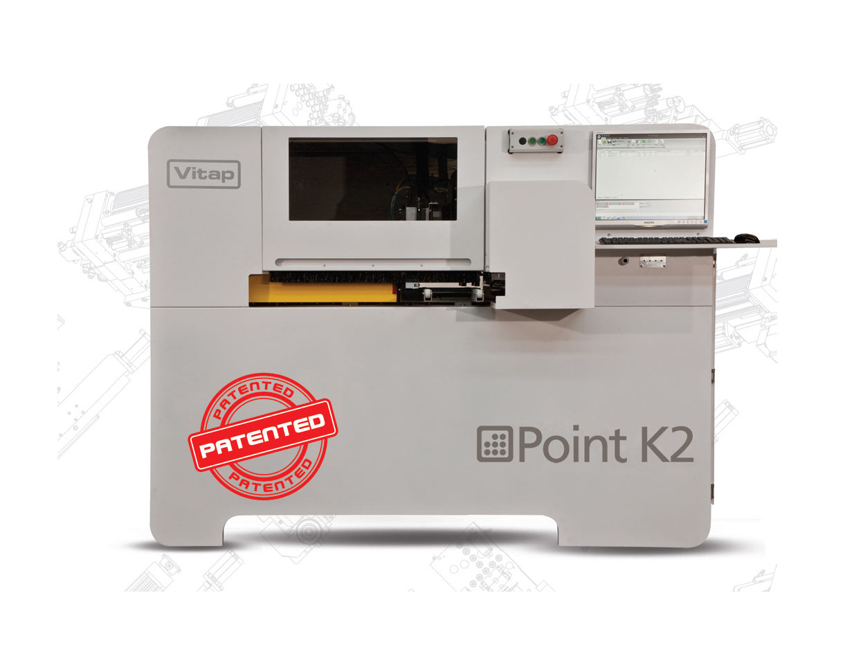 Vitap Point K2 – automatyczne CNC