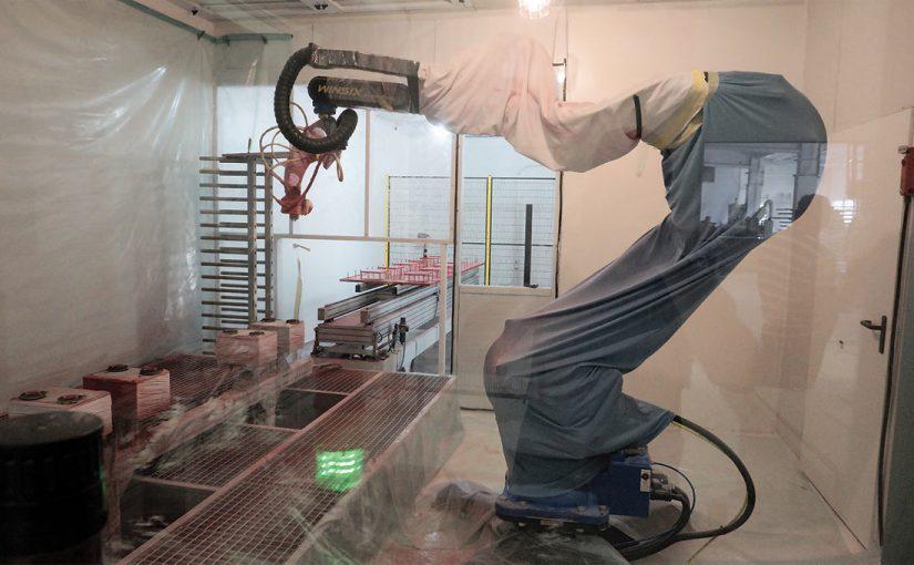 Robot Epistolio Winsix firma ITA