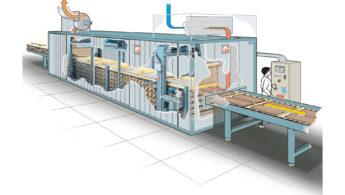 GPM – Tunel wielowarstwowy do wstępnego osuszania